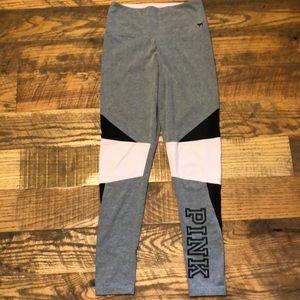 PINK VICTORIA'S SECRET gray leggings yoga pants